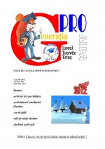 Ziarul Generatia Pro - ianuarie 2012