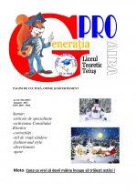 Ziarul Generatia Pro - ianuarie 2013