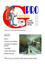 Ziarul Generatia Pro - ianuarie 2014