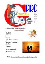 Ziarul Generatia Pro - februarie 2012
