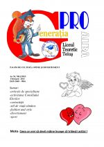 Ziarul Generatia Pro - februarie 2013