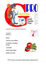 Ziarul Generatia Pro - martie 2012