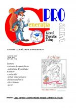 Ziarul Generatia Pro - martie 2013