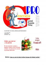 Ziarul Generatia Pro - martie 2014