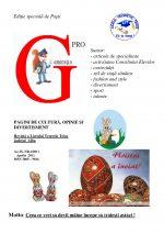 Ziarul Generatia Pro - aprilie 2011