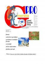 Ziarul Generatia Pro - mai 2012