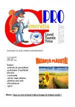 Ziarul Generatia Pro - iunie 2013