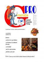 Ziarul Generatia Pro - octombrie 2012