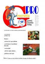 Ziarul Generatia Pro - octombrie 2013
