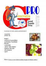 Ziarul Generatia Pro - noiembrie 2012