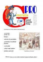 Ziarul Generatia Pro - decembrie 2014