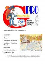 Ziarul Generatia Pro - ianuarie 2015