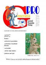 Ziarul Generatia Pro - aprilie 2015