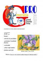 Ziarul Generatia Pro - mai 2015